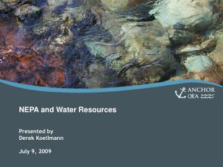 NEPA and Water Resources