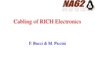 Cabling of RICH Electronics