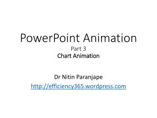 PowerPoint Animation  Part  3 Chart Animation
