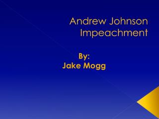 Andrew Johnson Impeachment