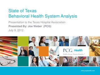 State of Texas Behavioral Health System Analysis