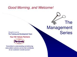 The  Management  Series