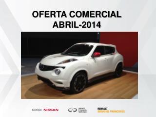 OFERTA COMERCIAL  ABRIL-2014