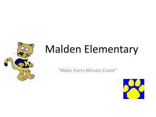 Malden Elementary