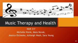 Music Therapy and Health