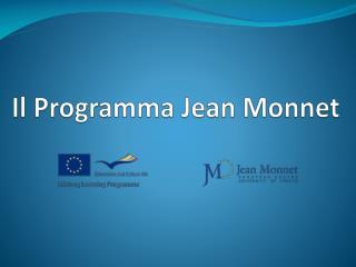 Il Programma Jean Monnet