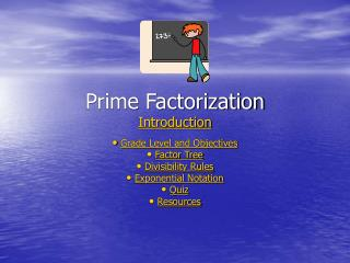 Prime Factorization Introduction