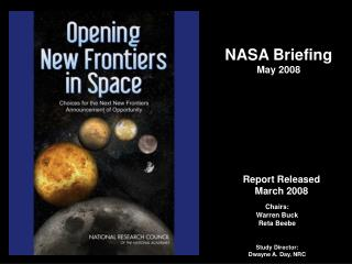 NASA Briefing May 2008