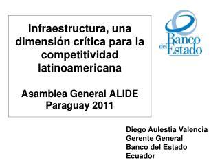 Diego Aulestia Valencia Gerente General Banco del Estado Ecuador