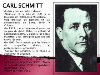 Jurista y teórico político alemán.