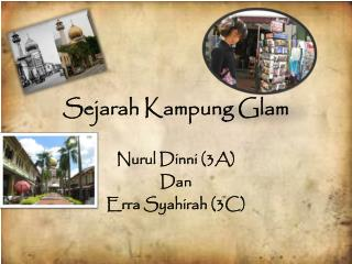 Sejarah Kampung Glam