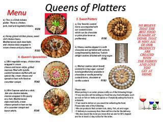 Queens of  Platters
