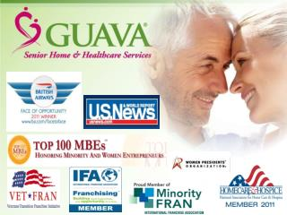 THE GUAVA  MODEL GUAVA® Healthcare, Inc. GUAVA® Franchising, Inc. GUAVA® International Franchising