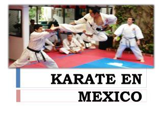KARATE EN MEXICO