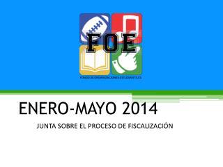 ENERO-MAYO 2014