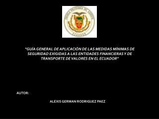"""""""GUÍA GENERAL DE APLICACIÓN DE LAS MEDIDAS MÍNIMAS DE"""