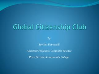 Global Citizenship Club