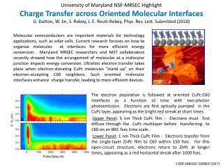 UMD MRSEC DMR0520471