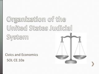 Organization of the United States Judicial System