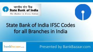 IFSC Code of SBI