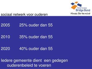 sociaal netwerk voor ouderen