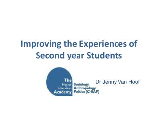 Improving the Experiences of Second year Students