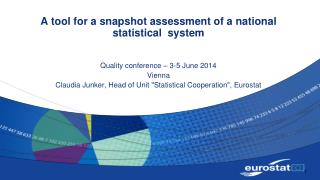 A  tool  for a  snapshot assessment  of a national  statistical   system