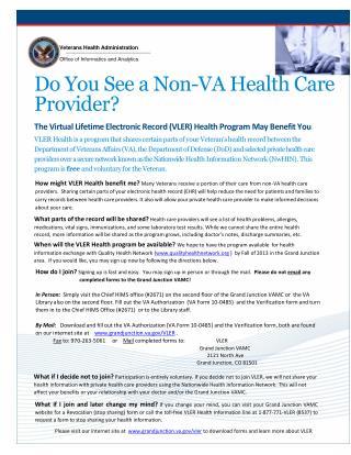 Veterans Health Administration