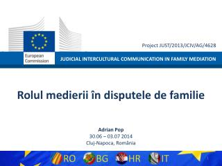 JUDICIAL INTERCULTURAL COMMUNICATION IN FAMILY MEDIATION