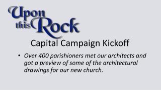 Capital Campaign Kickoff