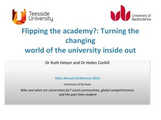 Flipping the academy?: Turning the changing  world of the university inside out