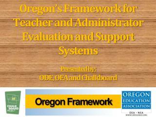 Oregon Framework