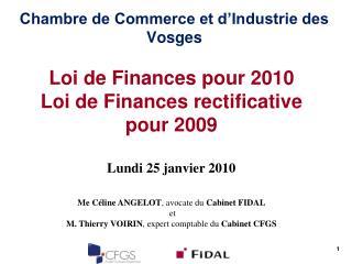 Chambre de Commerce et d Industrie des Vosges