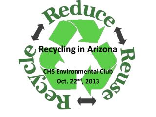 Recycling in Arizona