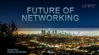FUTURE OF NETWORKING