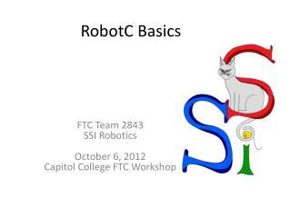RobotC Basics