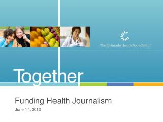 Funding Health Journalism