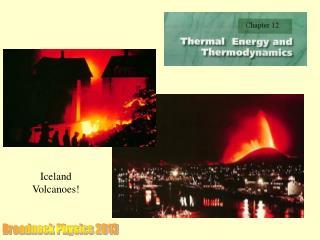 Iceland Volcanoes!