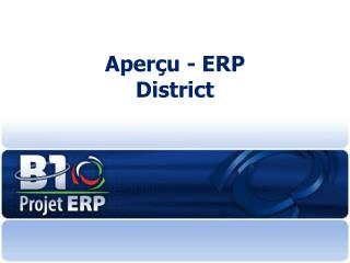 Aper çu - E RP  District