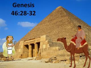 Genesis  46:28-32