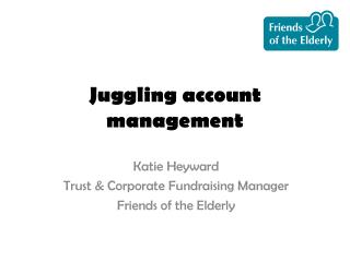 J uggling account management