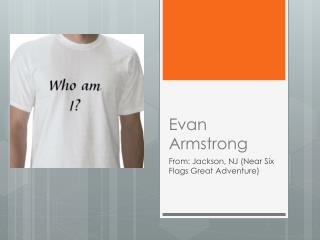 Evan Armstrong