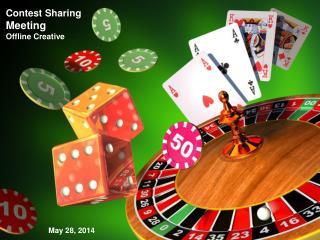 Contest Sharing Meeting  Offline Creative