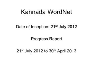 Kannada  WordNet