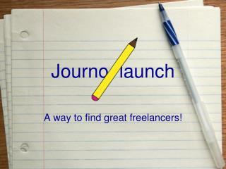 Journo  launch