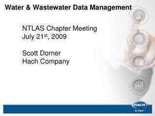 Water  Wastewater Data Management