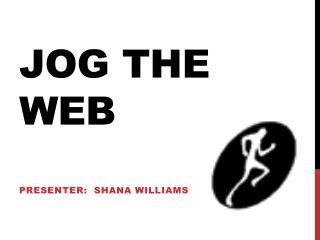 Jog The WEB