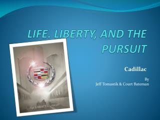 LIFE. LIBERTY, AND THE PURSUIT