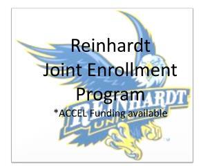 Reinhardt  Joint Enrollment Program