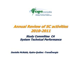 Annual Review of SC activities 2010-2011